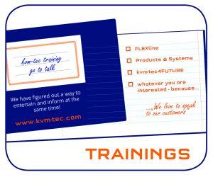 kvm-tec Training